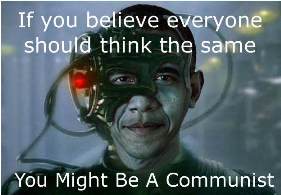 obama borg communist