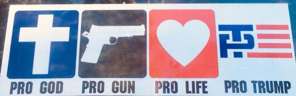 prolife gun trump god