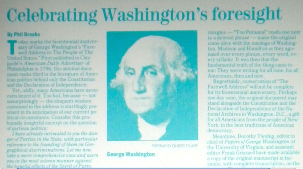 washington article