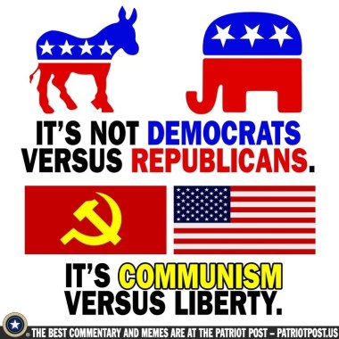 democrats republicans communists