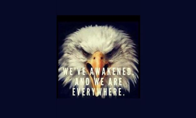 eagle awake patriot
