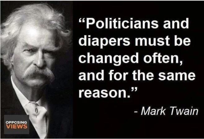 twain politicians diapers