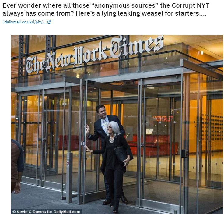 comey new york times