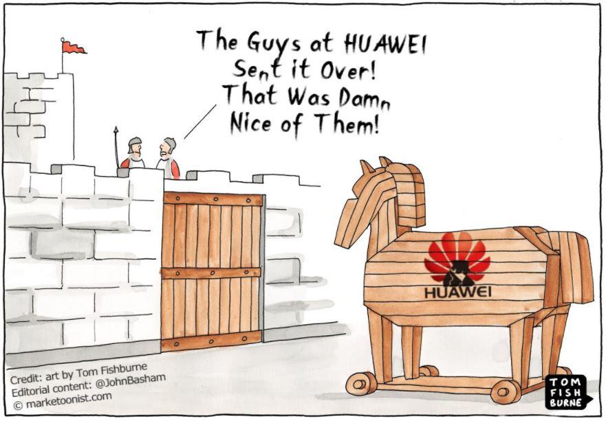 huawei trojan horse