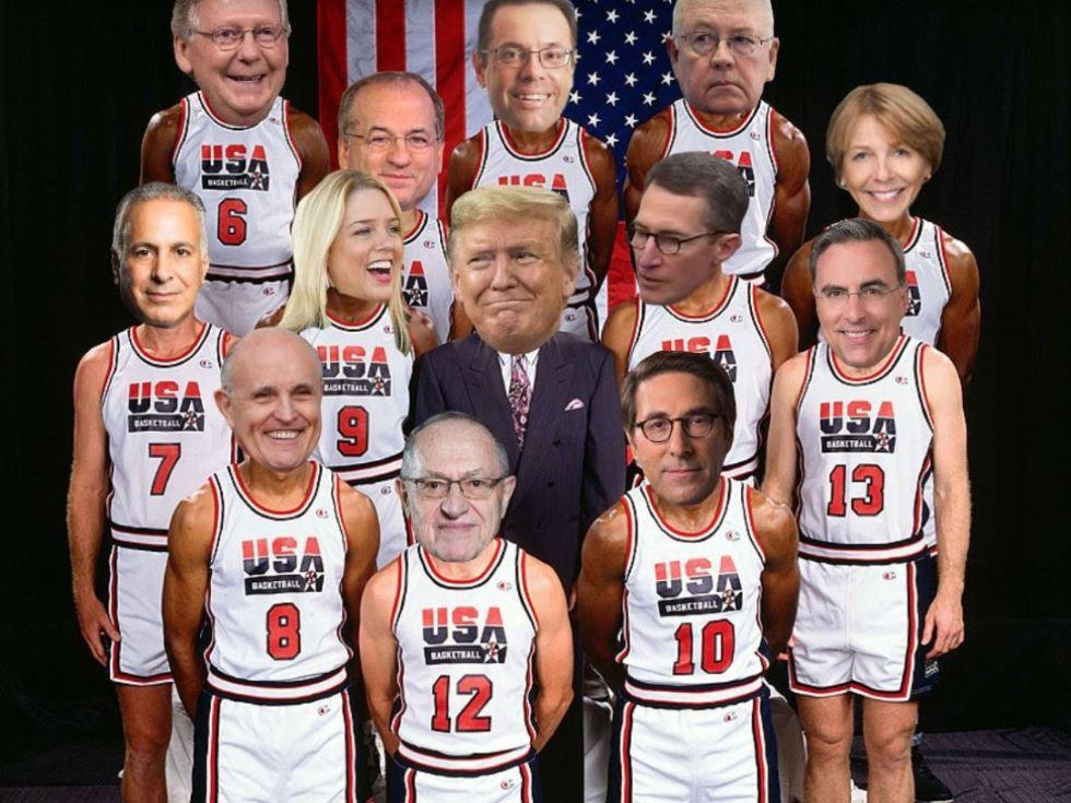 trump dream team