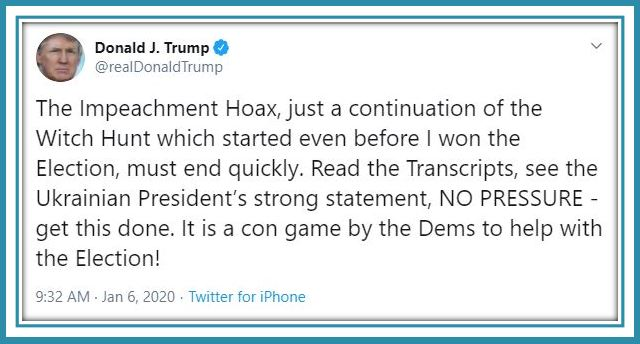 tt impeachment hoax