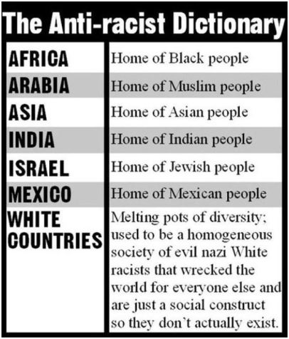 anti racist dictionary