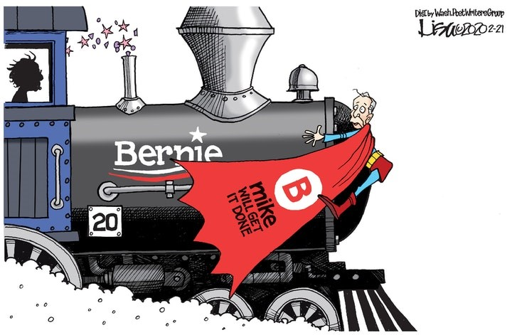 bernie sanders train