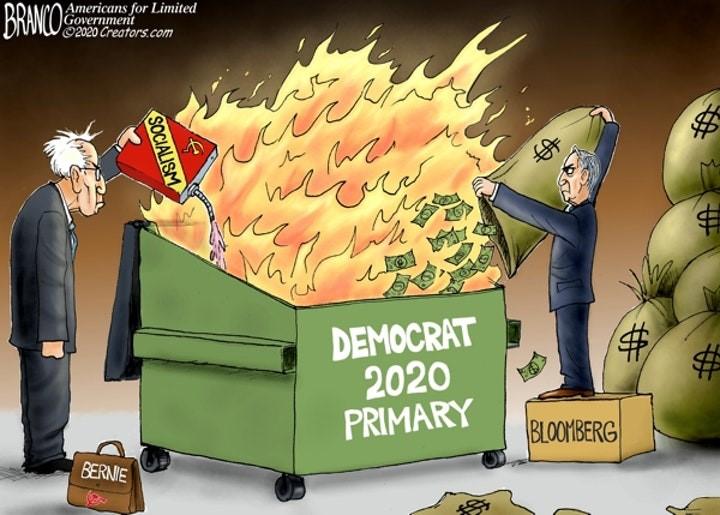 democrat primary branco