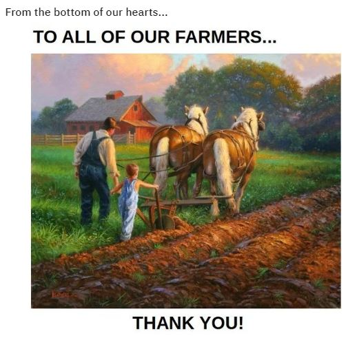 farmer thank you