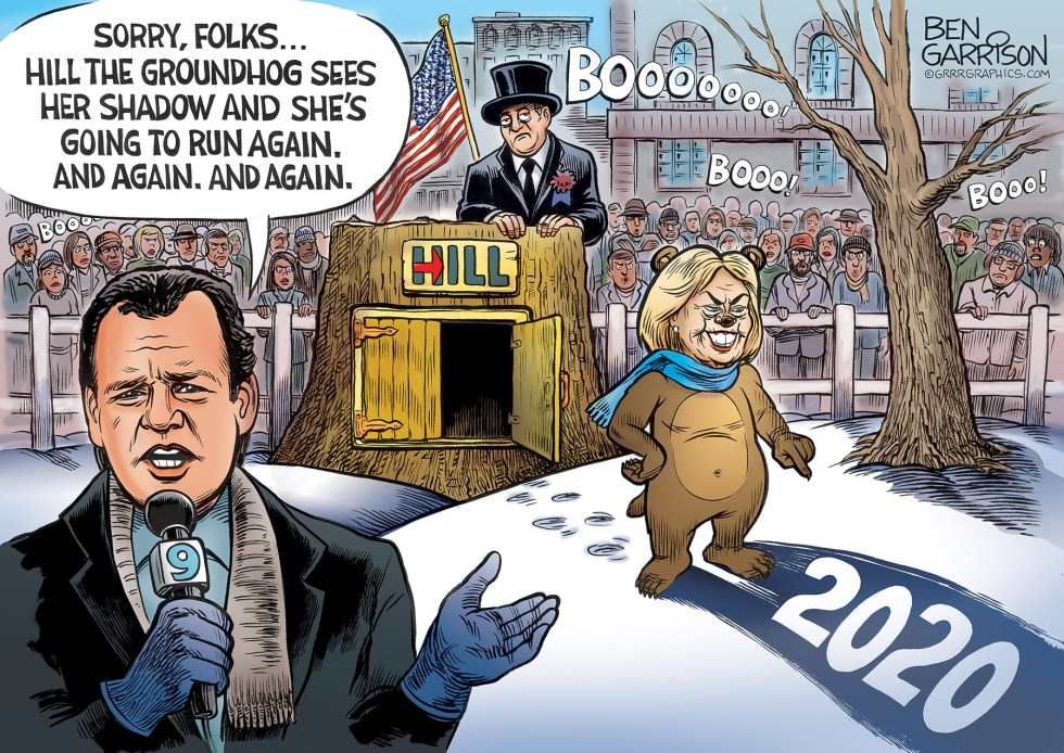 groundhog hillary clinton