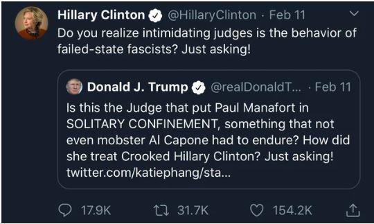 hillary clinton trump