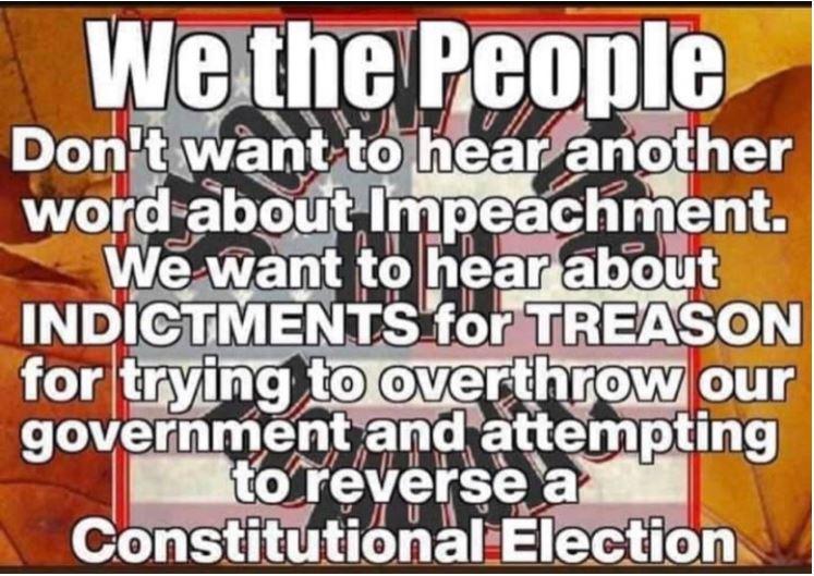 indict treason