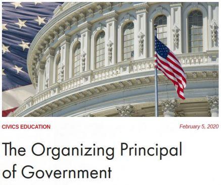organizing principal
