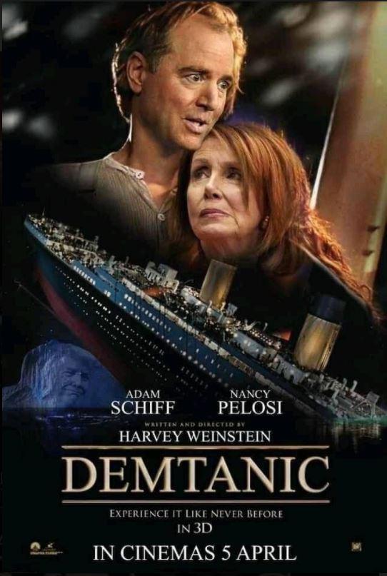 pelosi schiff titanic