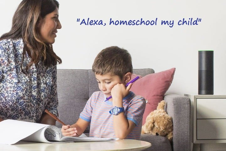alexa homeschool