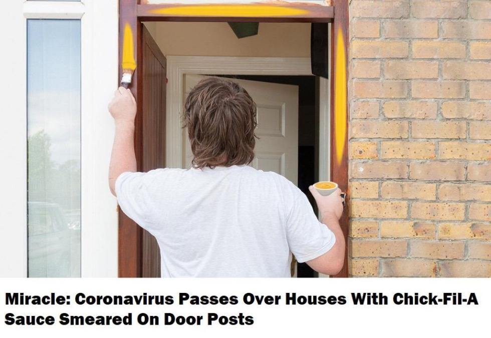 coronavirus door