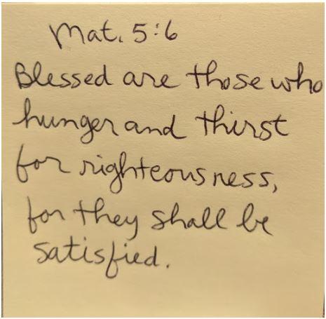 Matthew 5 - 6