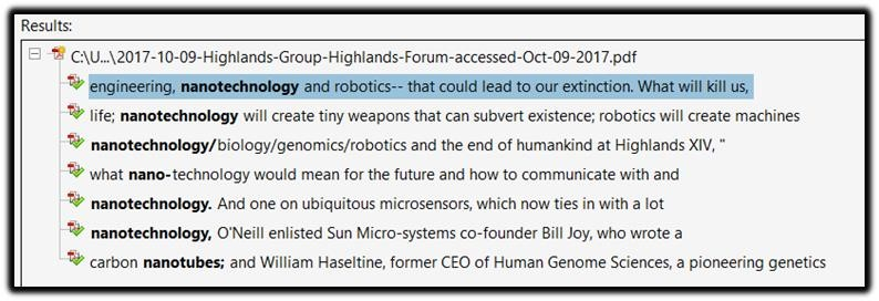 nanotechnology robotics