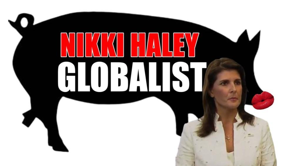 nikki haley globalist pig