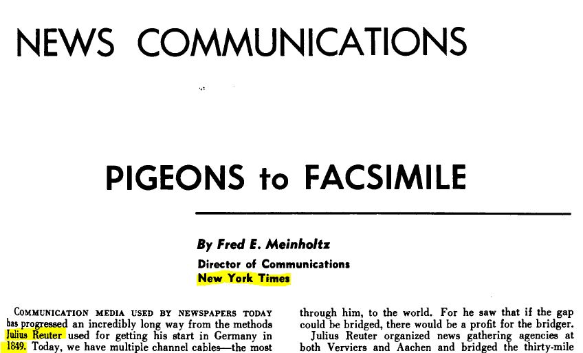 W.J. Baird, ed. (Jan. 01, 1957). Journal of the Armed Forces Communications and Electronics Association, Vol. 11, No. 05, 893 pgs, p. 285. Signal.