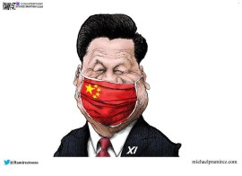 xi china mask corona virus