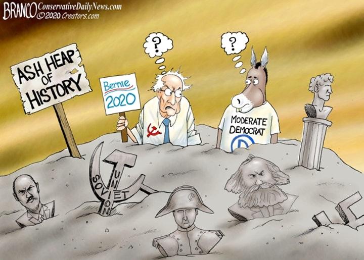branco history democrats sanders