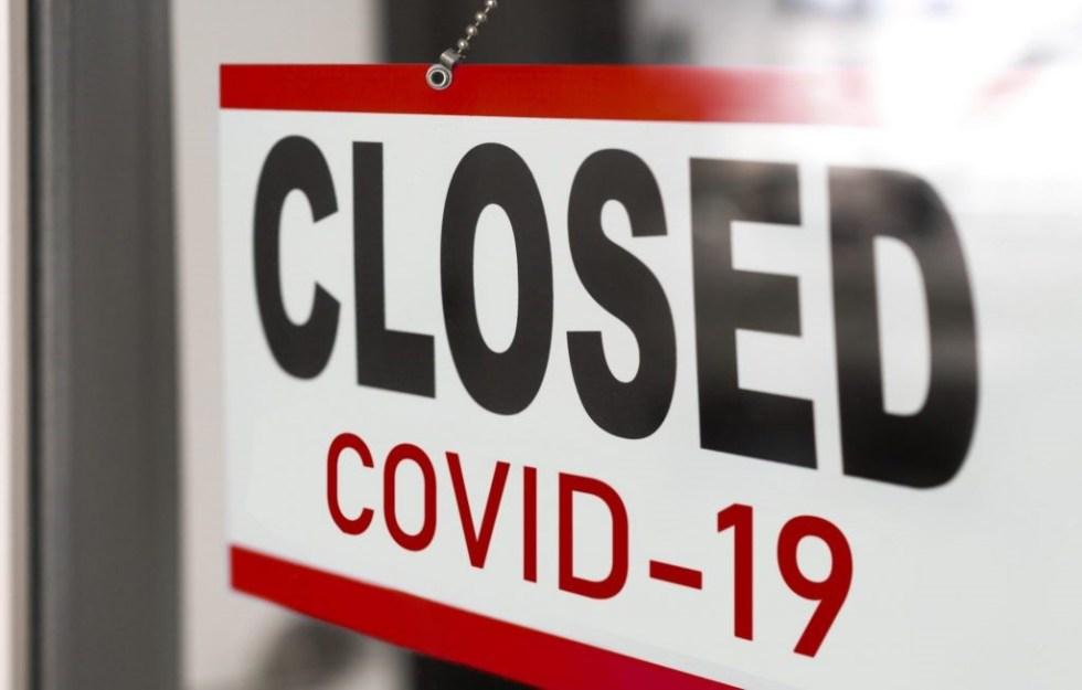 closed covid corona