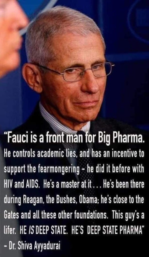 fauci big pharma