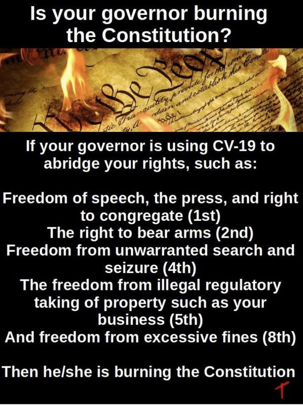 governor constitution bill rights