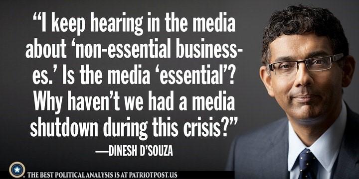 non essential media