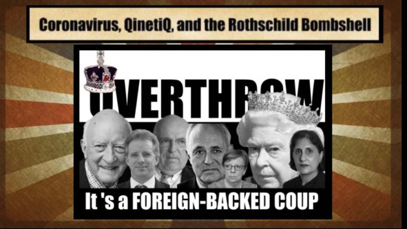overthrow queen coronavirus qinetiq