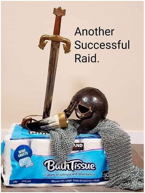 toilet paper sword