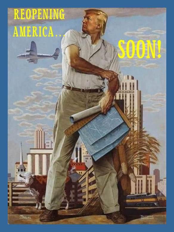 trump reopen america