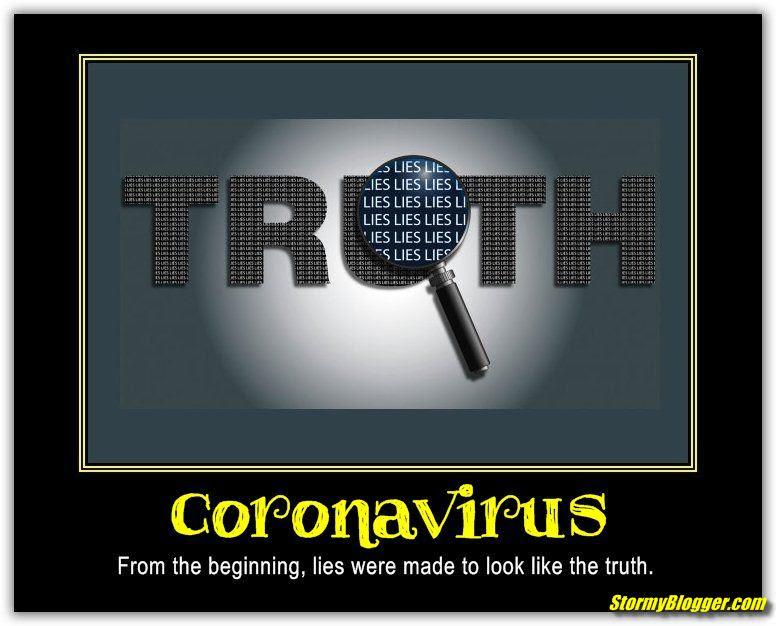 truth lies corona