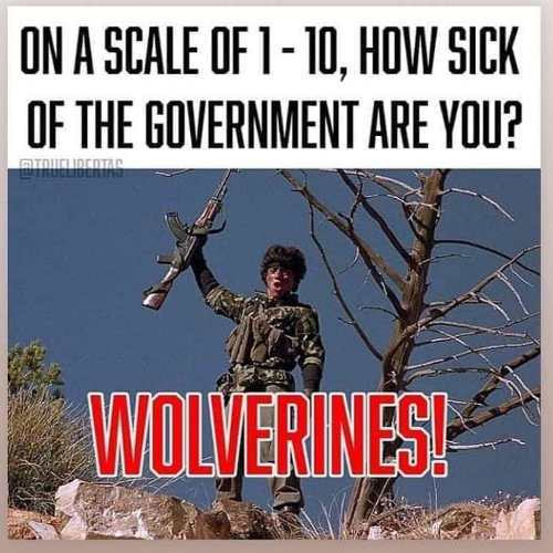 wolverines sick of government