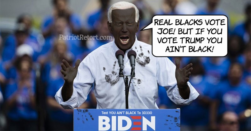 black joe biden