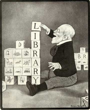 Andrew Carnegie funded American libraries to rewrite American history to please England.