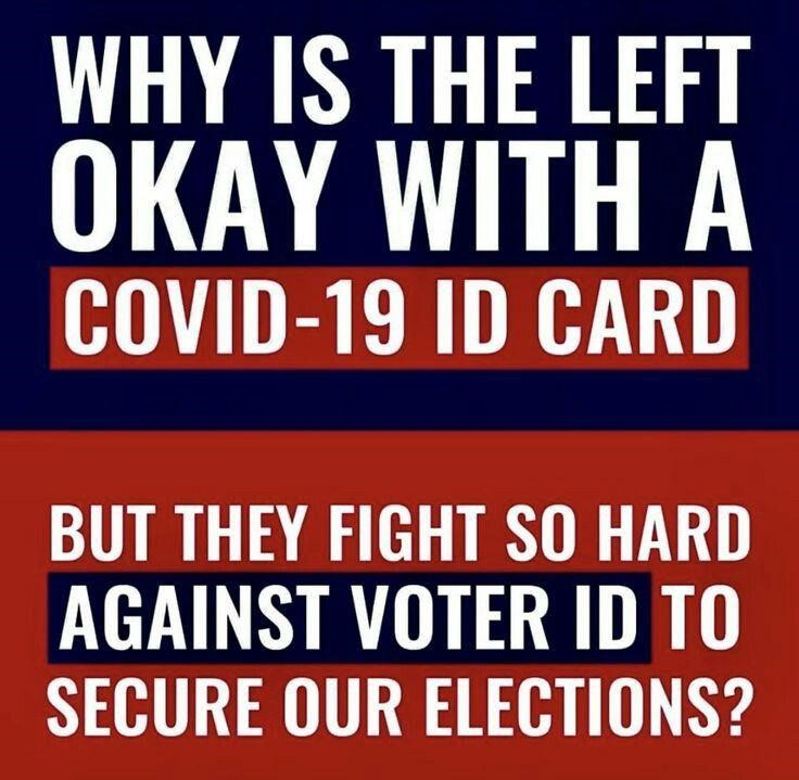 covid voter id