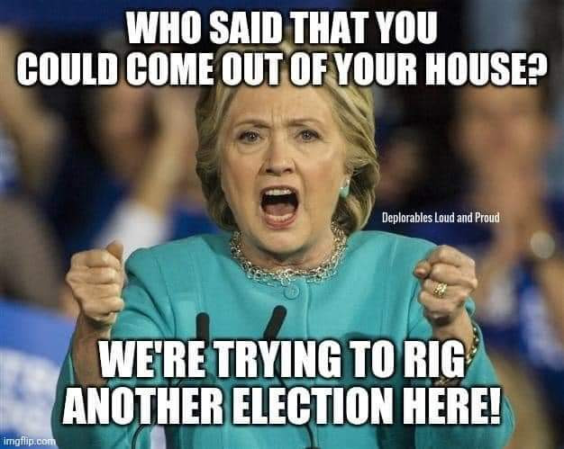 hillary rig elections