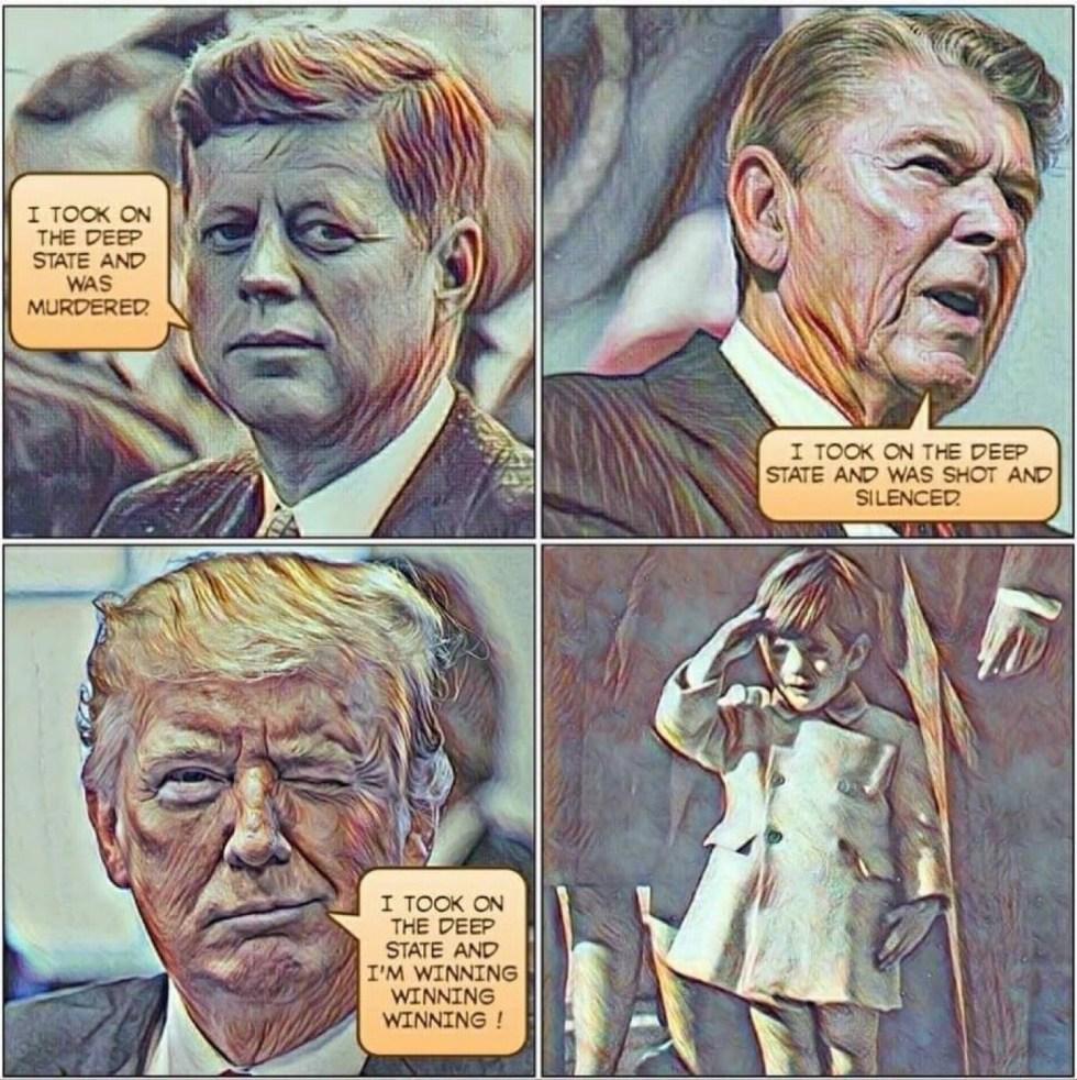 kennedy trump deep state