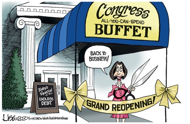 pelosi congress debt economy