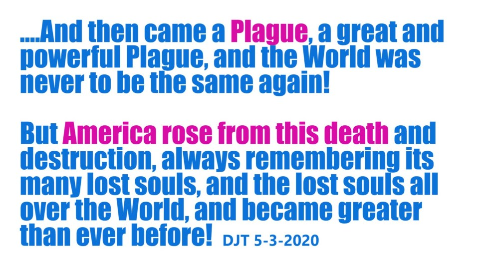 plague trump