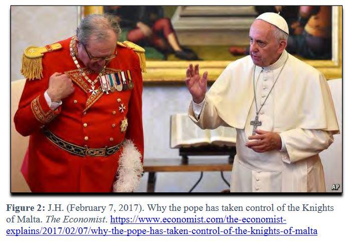 pope knights malta
