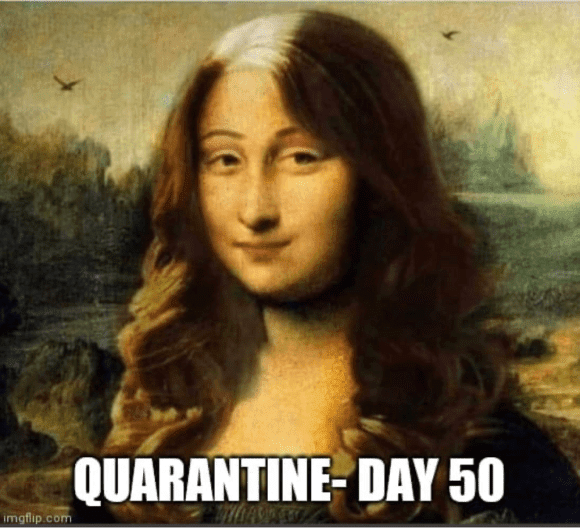 quarantine hair