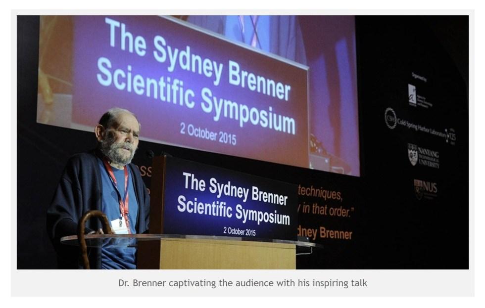 sydney brenner symposium