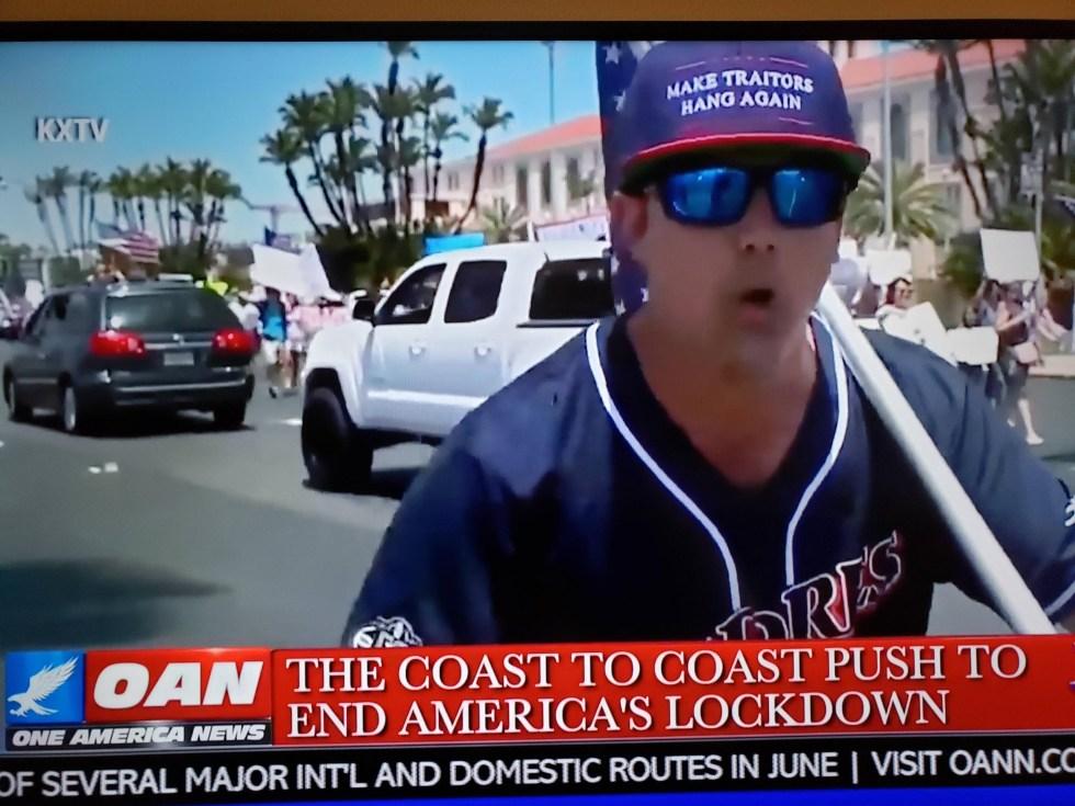 treason hanging hat