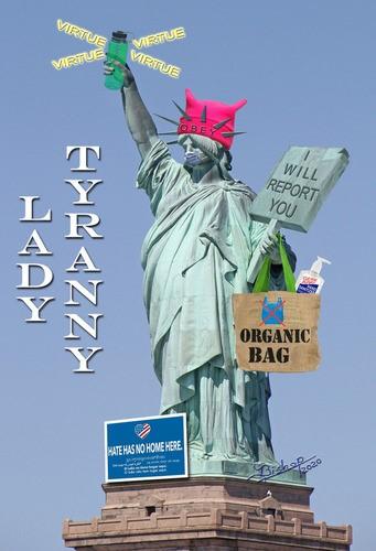 tyranny statue liberty