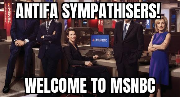 antifa msnbc