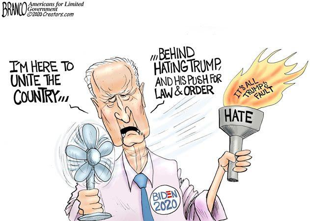 biden unites haters branco